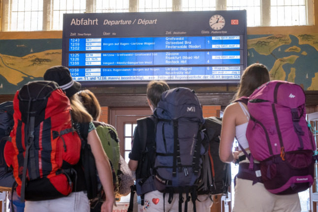 German rail strikes continue to impact cross-country services
