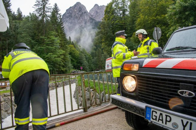 One dead, one missing after floods sweep through Bavarian hiking trail
