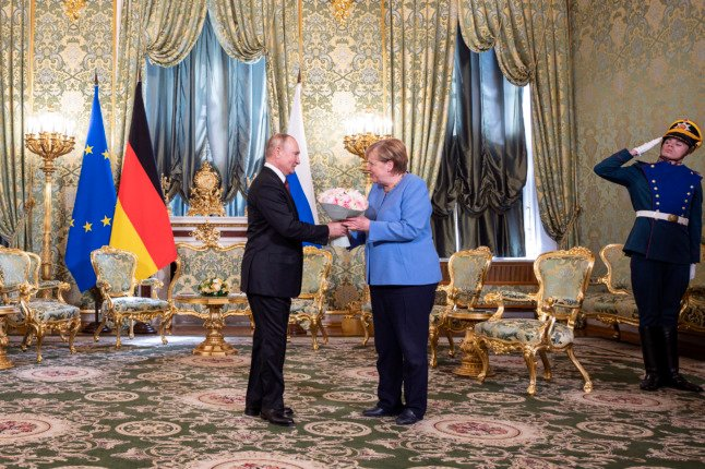 Merkel: Russia and Germany should talk despite 'deep differences'