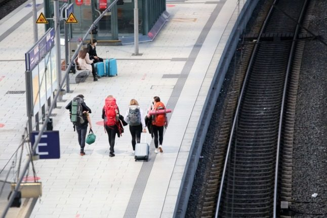 Train passengers across Germany face major disruption due to strike