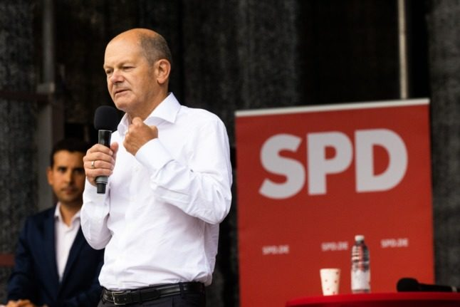 Germany's Social Democrats take surprise lead in election poll