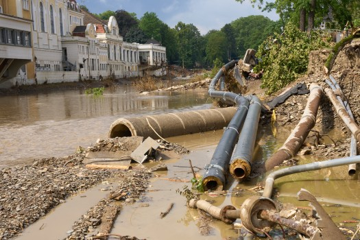 More heavy rain forecast for flood-hit west of Germany