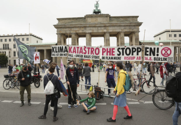 IN PICTURES: Thousands take to Berlin streets in peaceful social justice, climate protest