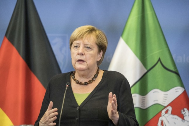 Germany's Merkel says talks with Taliban must continue to evacuate more people