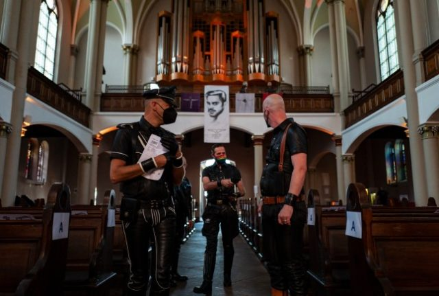 Grieg, Rachmaninoff, and leather jumpsuits: Berlin church holds concert for fetishists