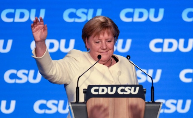 UPDATE: Merkel's final push for party and stability in knife-edge polls ahead of German election