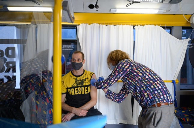 Why are fewer people getting vaccinated against Covid in eastern German states?