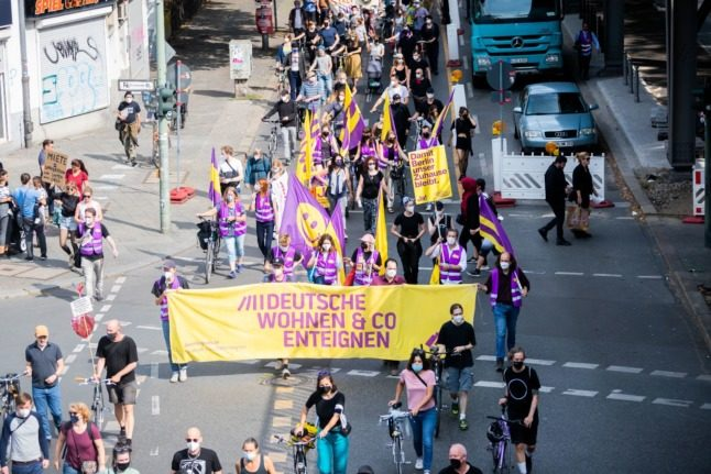 'Housing is a human right': Rent activists step up pressure ahead of German elections