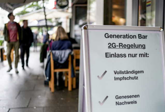 Majority of Germans 'favour tough rules for the unvaccinated'