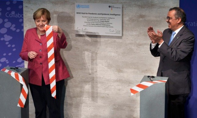 'Faster than the virus': New WHO pandemic data hub opens in Berlin