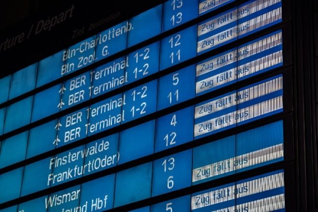 How to navigate the Deutsche Bahn train strikes in your region of Germany