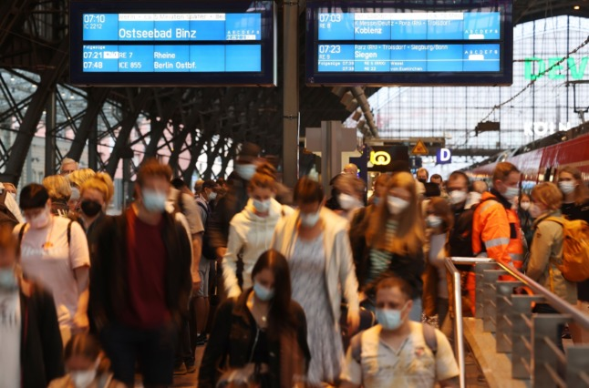 Trains return to normal across Germany – but more strikes loom