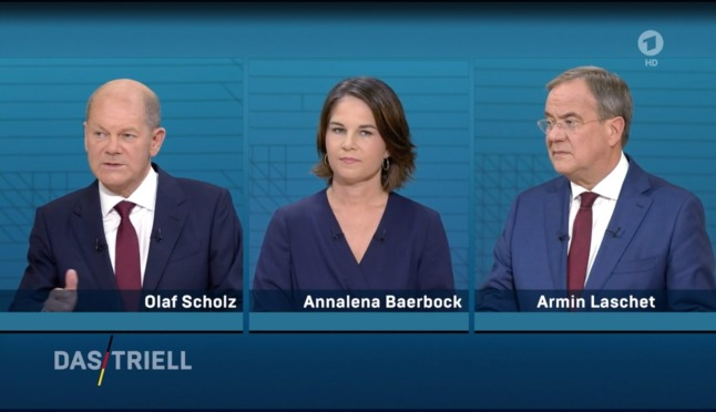 Laschet and Scholz trade blows in heated German election debate