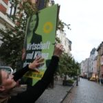 German election roundup: 'Hang the greens' poster ban and politicians are white, male and 'Michael'