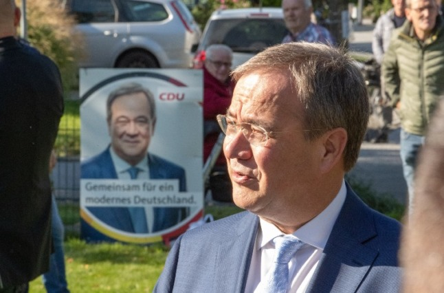 'Following Merkel is tough': On campaign trail with Germany's struggling CDU candidate
