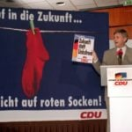 What do red socks have to do with Germany's election?