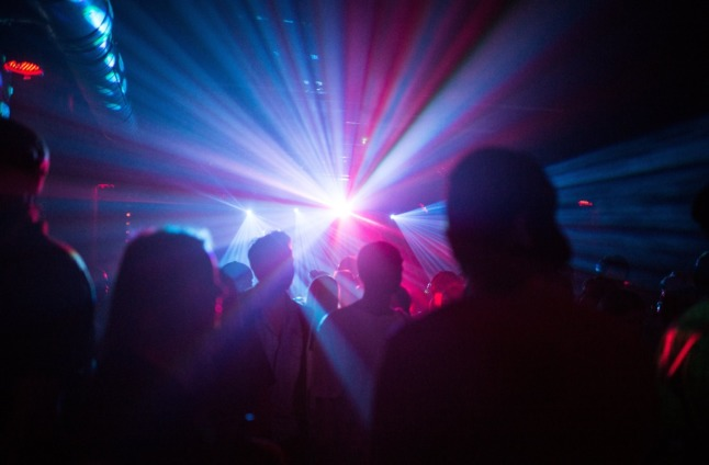 People dancing in a club in Berlin in 2016. Bavaria will allow clubs to reopen without masks or distance rules after the Covid shutdown.