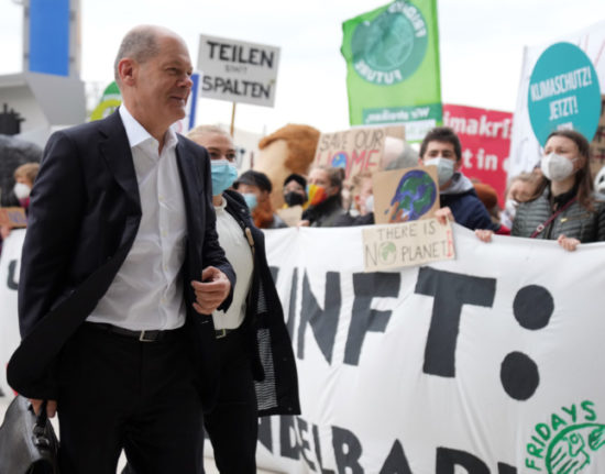 Germany's climate activists step up pressure on next government