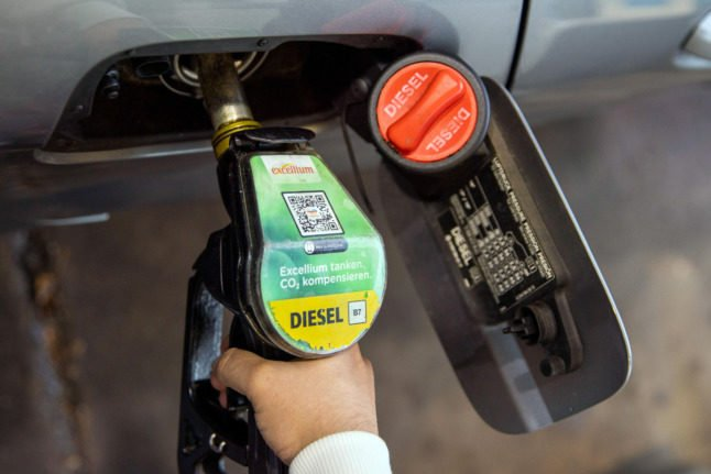 Drivers in Germany face record fuel costs
