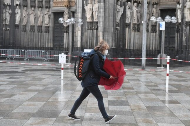Storms across Germany spark travel disruption