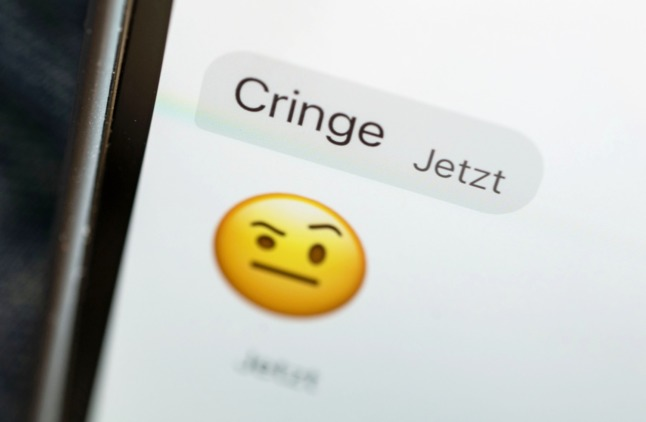 Cringe named Germany's youth word of the year